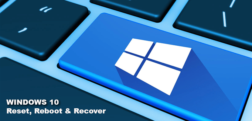 Fix Windows 10 by resetting or Recovery Disk
