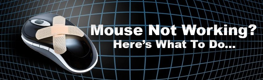 mouse not working on laptop