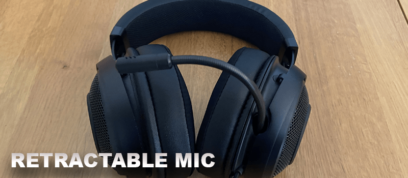 Kraken Gaming Headset with a retractable mic
