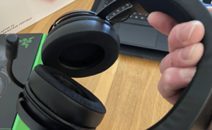The Razer Kraken Headset Features Cooling gel infused ear cushions