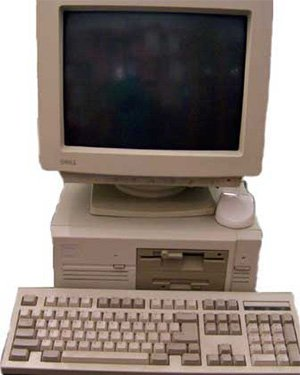 Dell Computers first ever PC, the Turbo PC