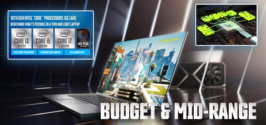 MSI and ASUS Mid-Range Laptops
