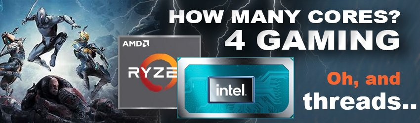 How many cores do you need for gaming